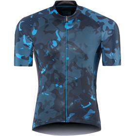 Shimano Breakaway Jersey Men Neon Blue